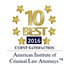 Josh LeRoy PA - 10 Best West Palm Beach Criminal Defense Attorney Award
